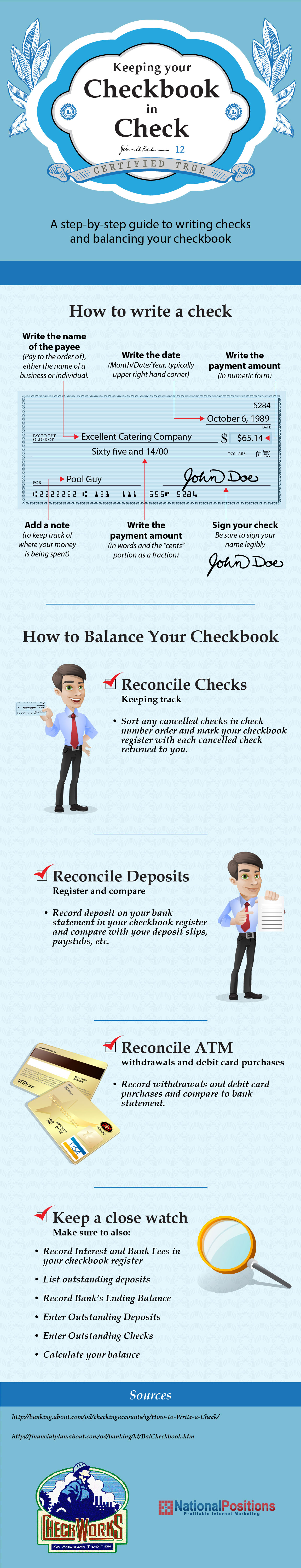 Keeping Your Checkbook In Check Checkworks