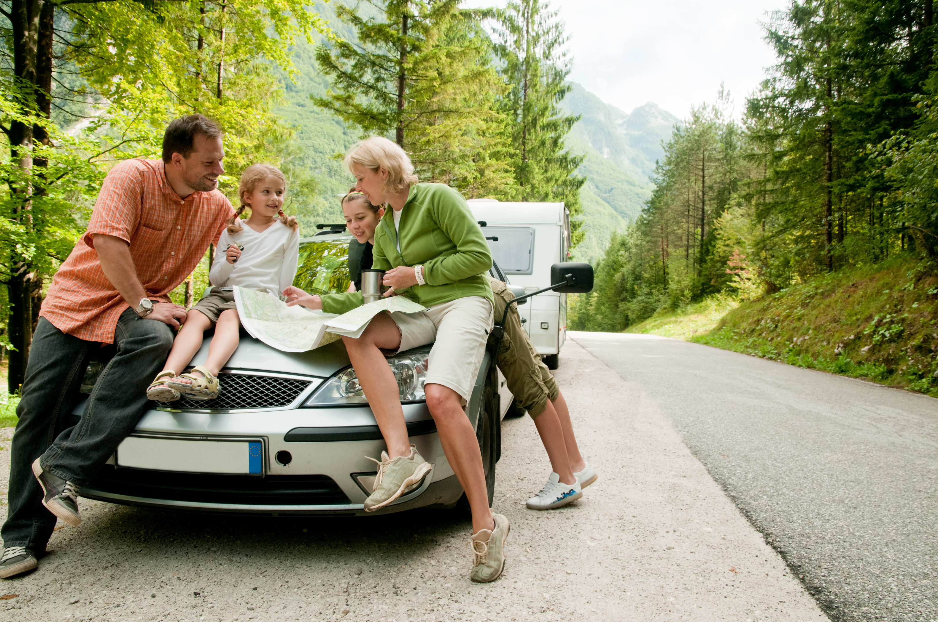fly by the seat of your pants for a memorable family