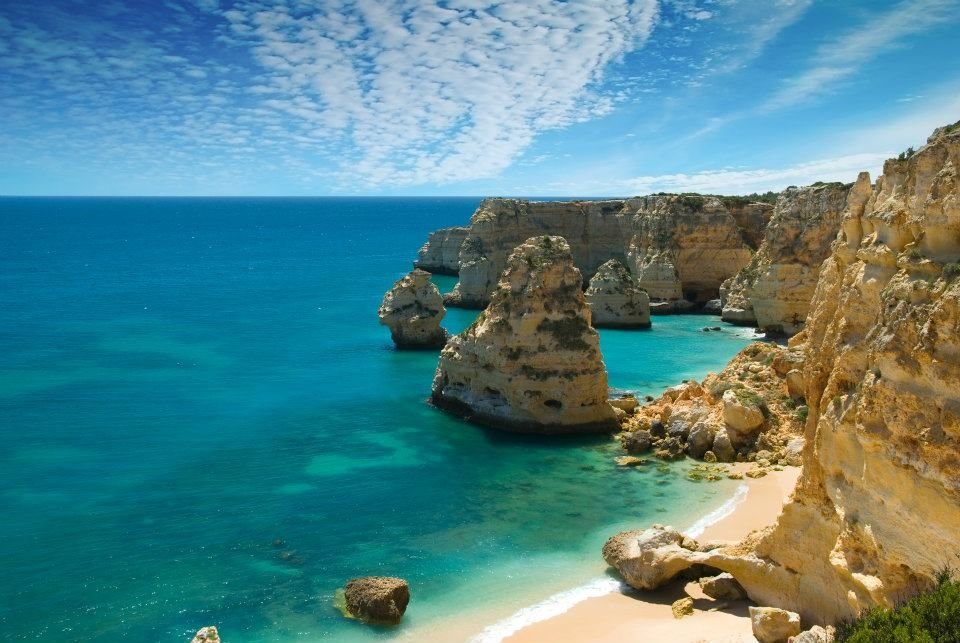Cliffs at algarve