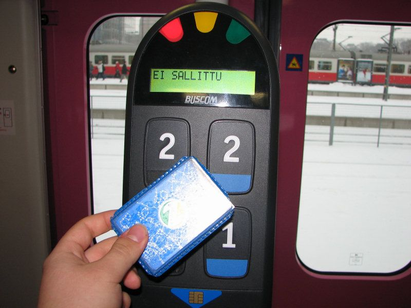 EMV contactless use