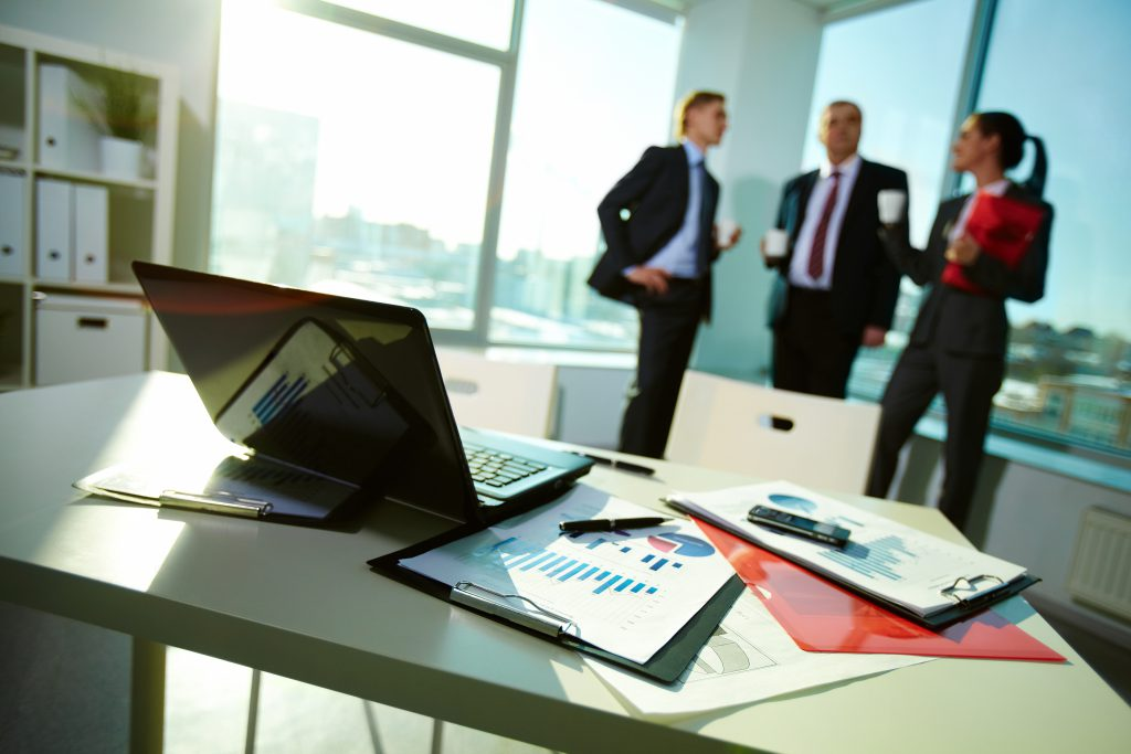 producing documents in a business environment
