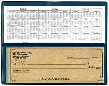 Antique - Single 1 on-a-Page Business Checks