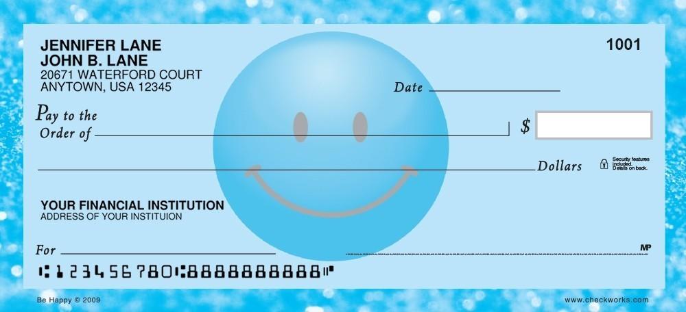 Be Happy - Personal Checks