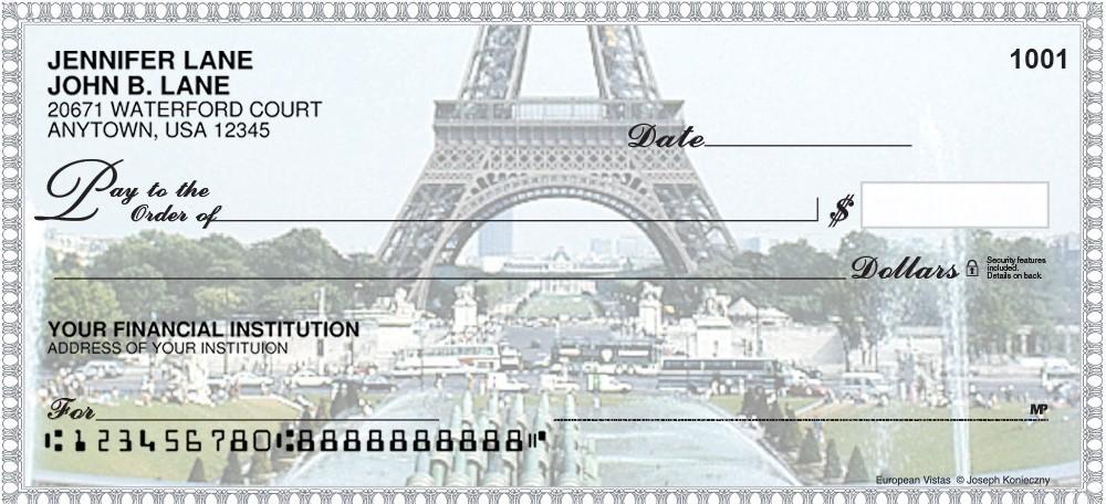 Bon Voyage - Personal Checks
