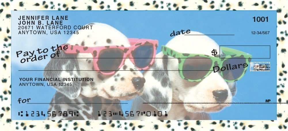 Cool Pups - Personal Checks