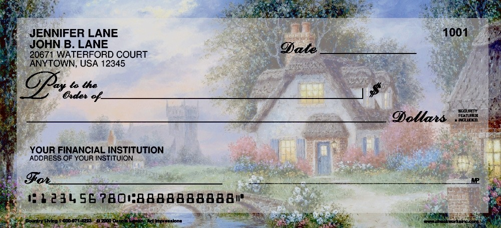 Country Living - Personal Checks
