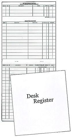 Desk Register