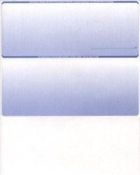 Gradient - Reflex Blue Top Business Laser Checks