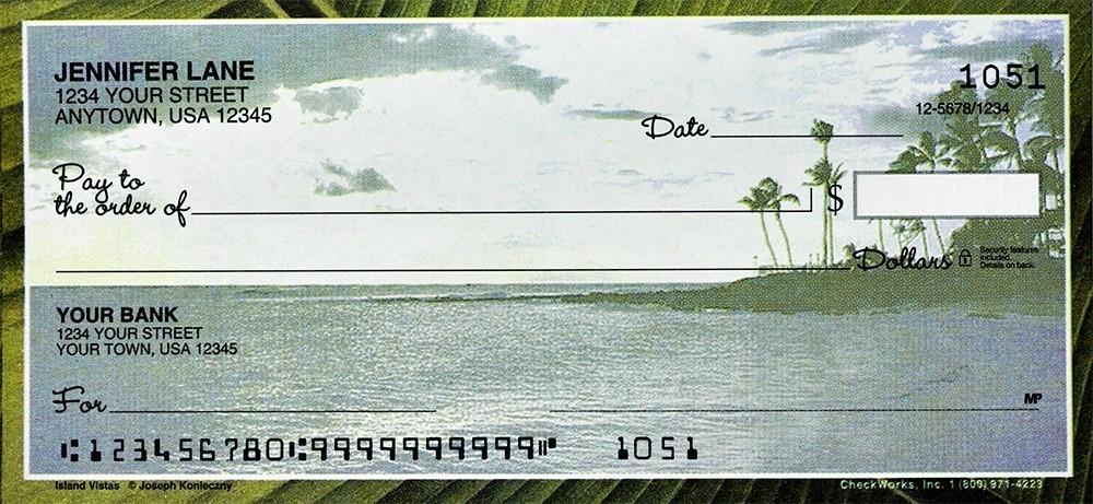 Island Vistas - Personal Checks