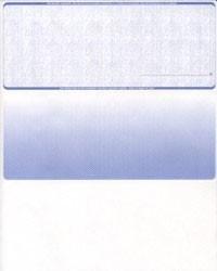 Linen - Reflex Blue Top Business Laser Checks