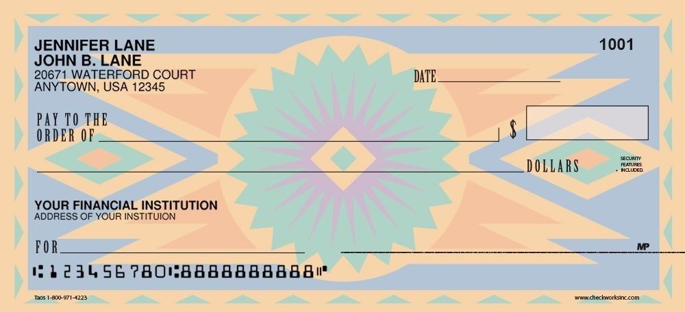 Taos - Personal Checks