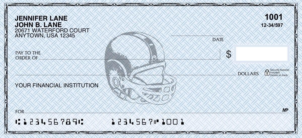Football - Personal Checks