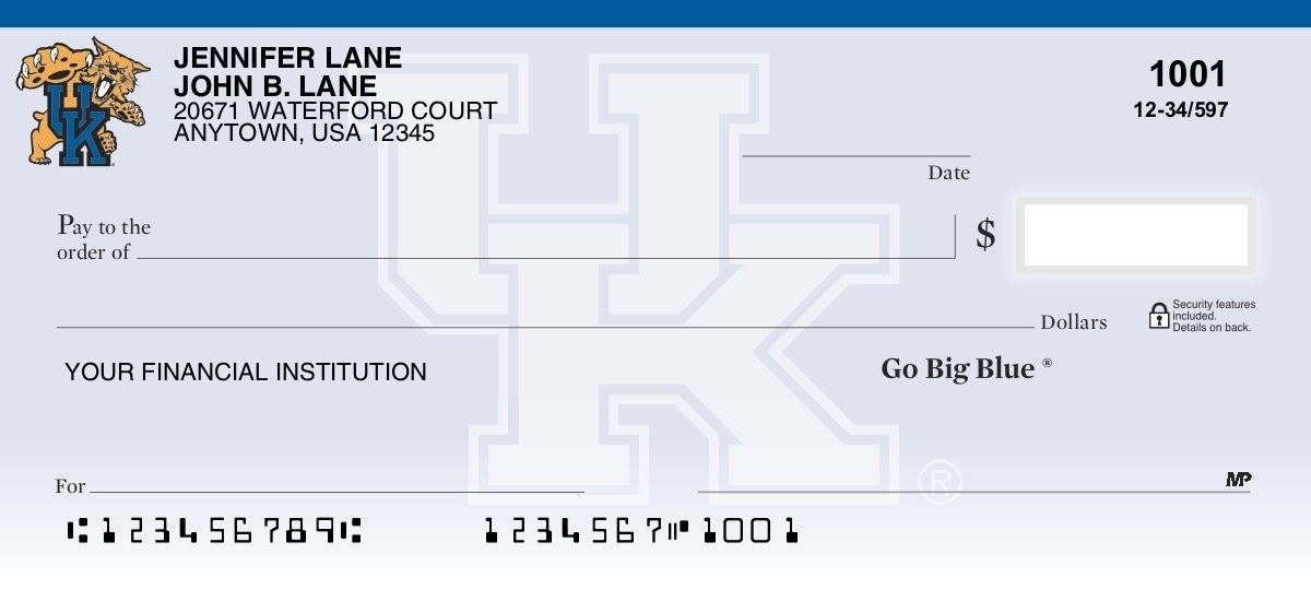 University of Kentucky - Collegiate Checks