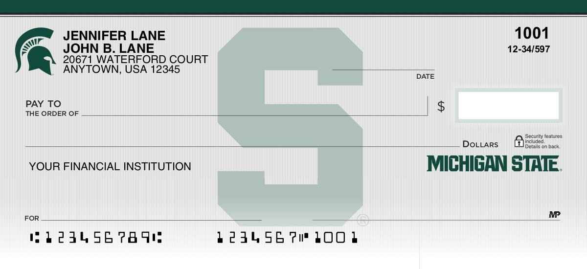 Michigan State University - Collegiate Checks