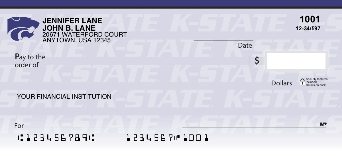 Kansas State University - Collegiate Checks