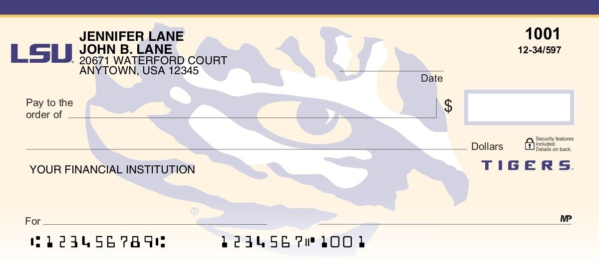 Louisiana State University - Collegiate Checks