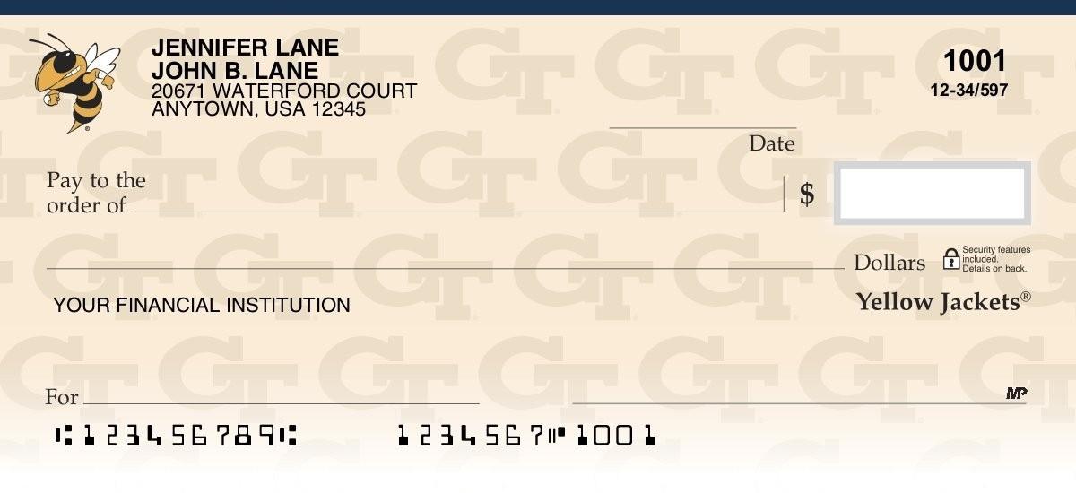georgia tech personal checks