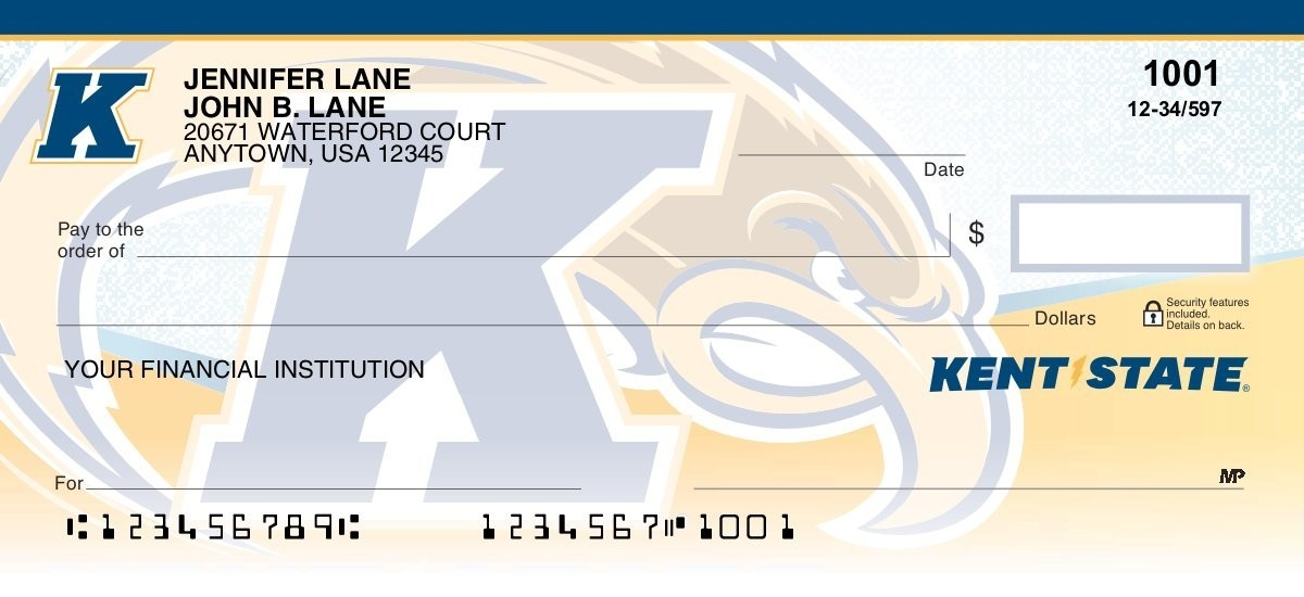 Kent State University - Collegiate Checks