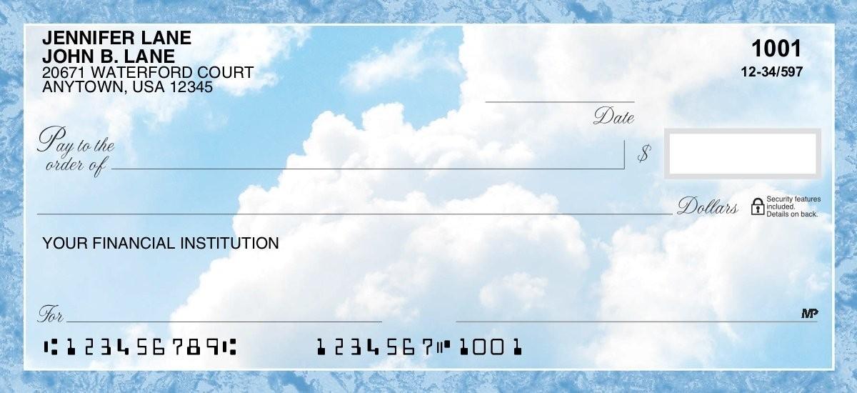Blue Cloud - Personal Checks