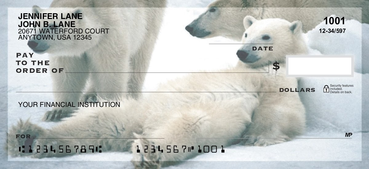 Polar Bear - Personal Checks