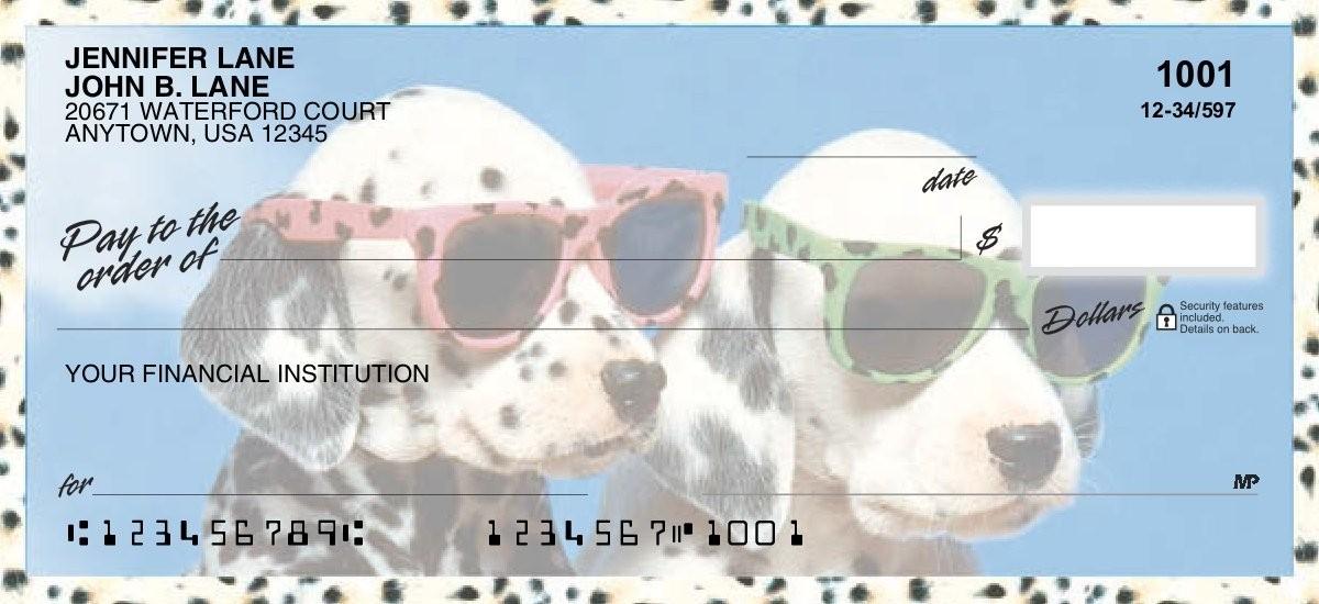 Cool Pups - Personal Checks