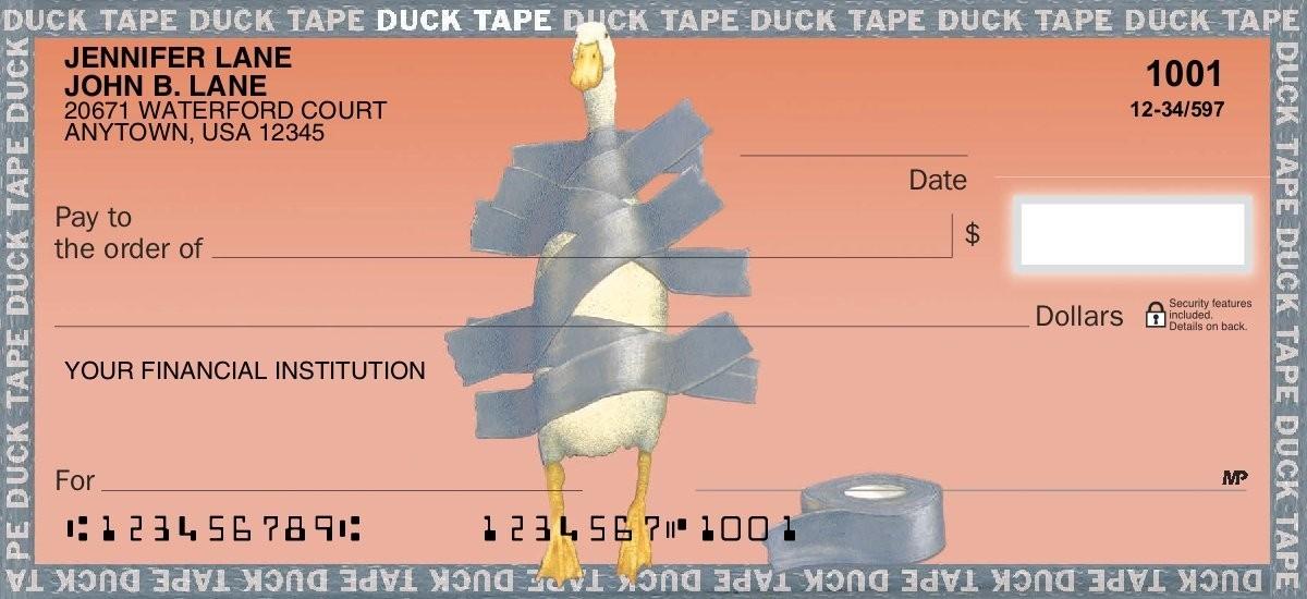 Duck Tape - Personal Checks