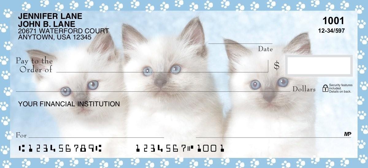 Purr-fect! - Personal Checks
