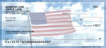 American Flag - Personal Checks