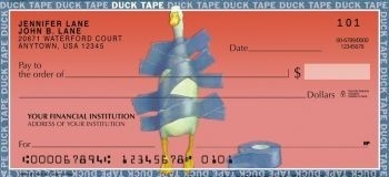 Duck Tape - Personal Checks