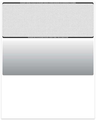 Linen - Gray Top Business Laser Checks