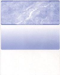 Marble - Reflex Blue Top Business Laser Checks