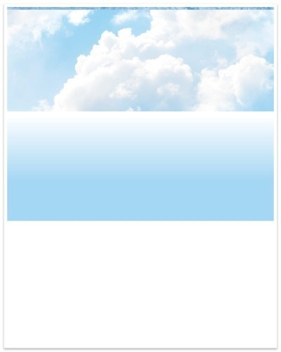 Blue Skies - Blue Laser Top Checks