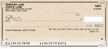 Scripture - Personal Checks