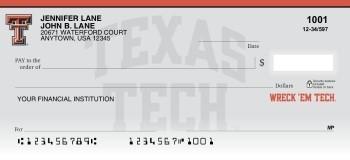 Texas Tech University - Collegiate Checks