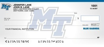 Middle Tennessee State University - Collegiate Checks