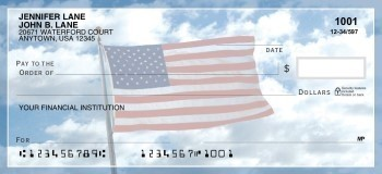 American Flag - Personal Checks