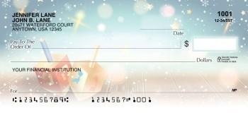 Happy Hanukkah Dreidel -  Personal Checks