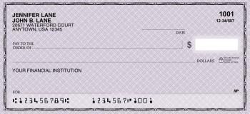 Classic Safety Purple - Personal Checks