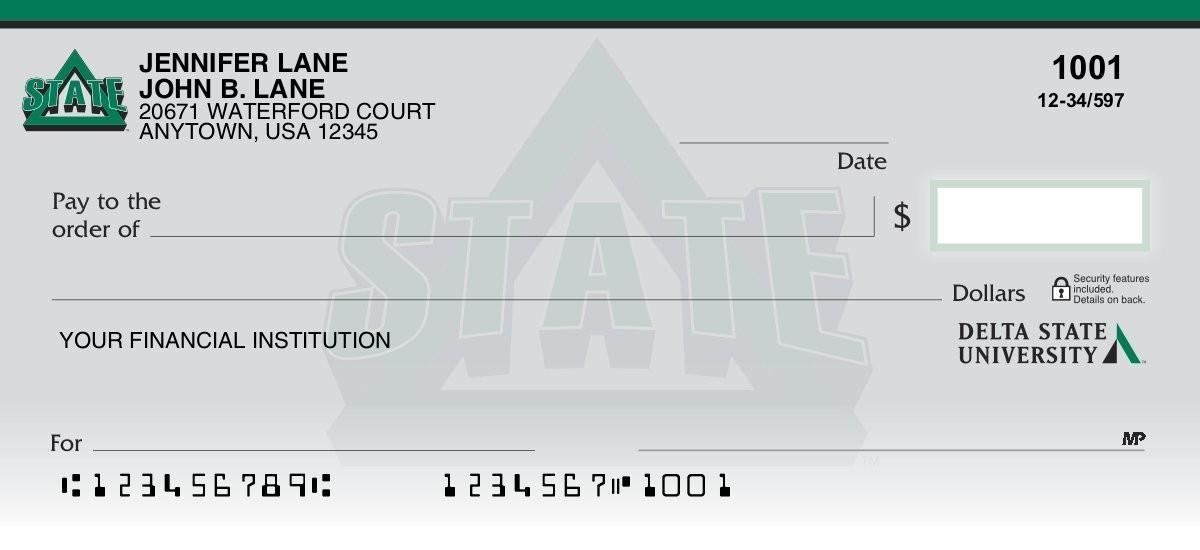 delta state statesmen personal checks