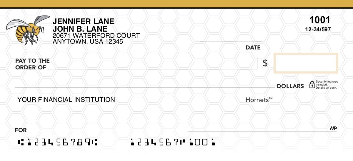alabama state university personal checks