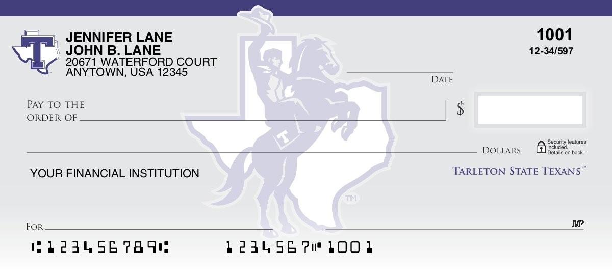 tarleton state university personal checks