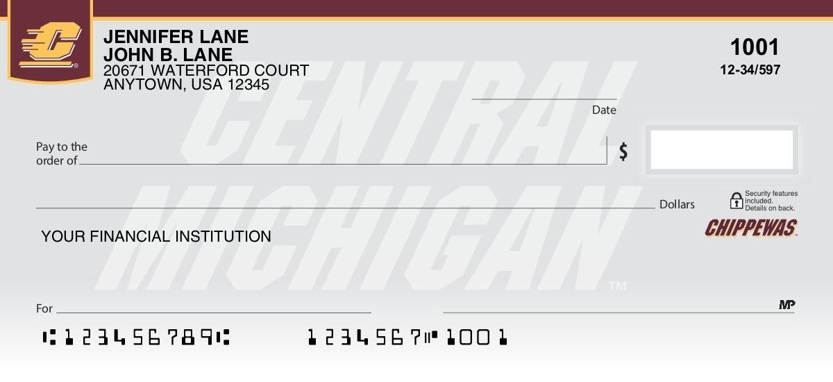 central michigan university checks