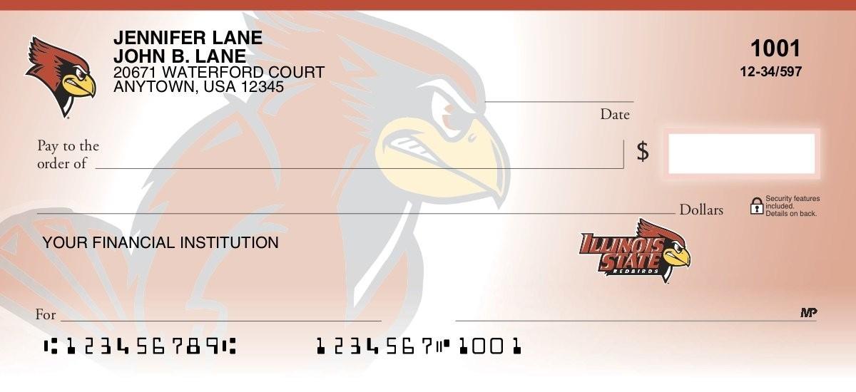 illinois state university personal checks