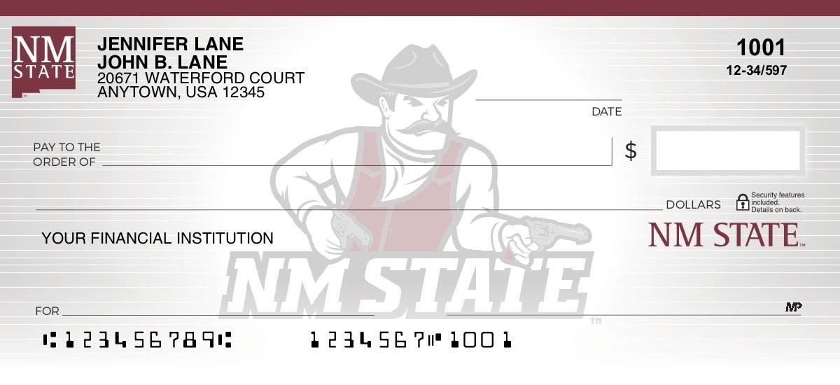 new mexico state personal checks