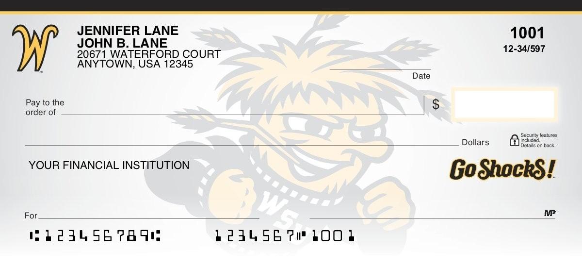 wichita state university personal checks