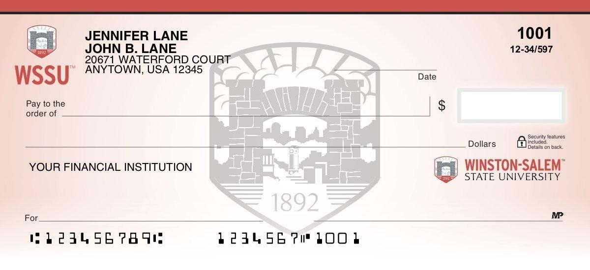 winston-salem state personal checks