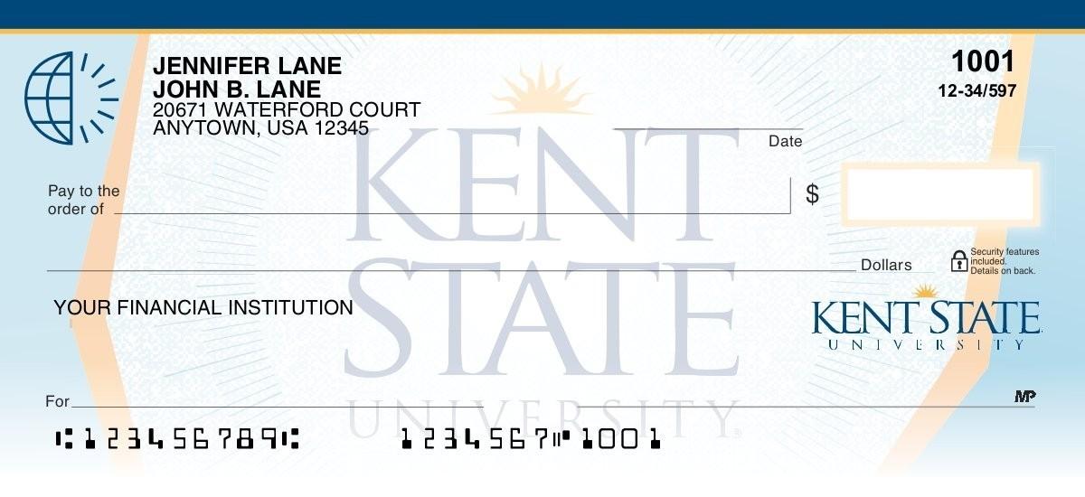 kent state personal checks